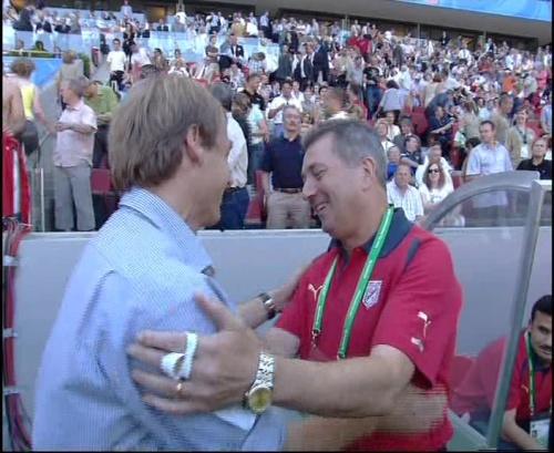 Jürgen Klinsmann – Germany v Tunisia 1