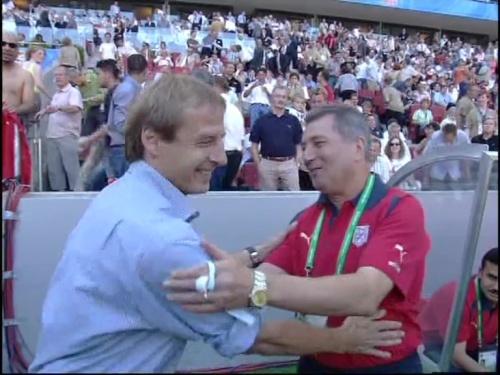 Jürgen Klinsmann – Germany v Tunisia 2