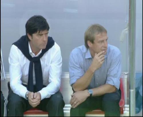 Jürgen Klinsmann & Joachim Löw – Germany v Tunisia 1