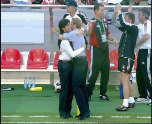 Jürgen Klinsmann & Joachim Löw – Germany v Tunisia 11