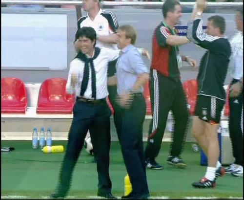 Jürgen Klinsmann & Joachim Löw – Germany v Tunisia 12