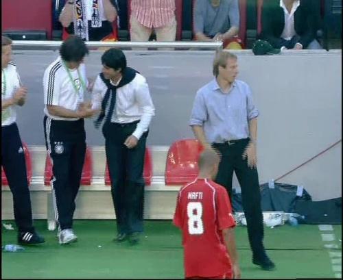 Jürgen Klinsmann & Joachim Löw – Germany v Tunisia 14