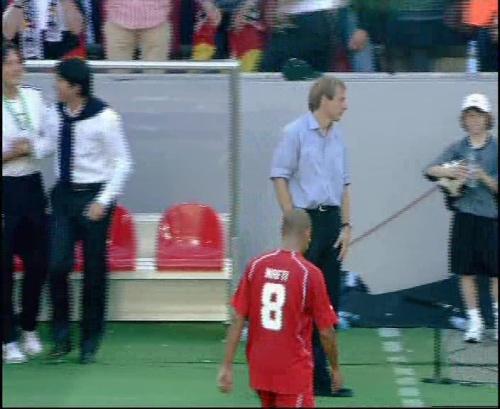 Jürgen Klinsmann & Joachim Löw – Germany v Tunisia 15