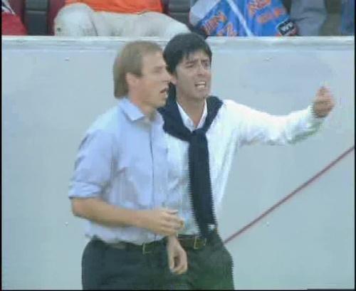 Jürgen Klinsmann & Joachim Löw – Germany v Tunisia 3