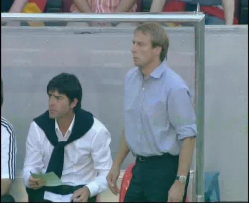 Jürgen Klinsmann & Joachim Löw – Germany v Tunisia 4