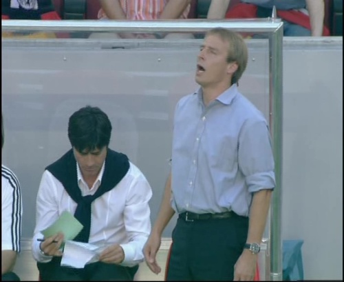 Jürgen Klinsmann & Joachim Löw – Germany v Tunisia 5