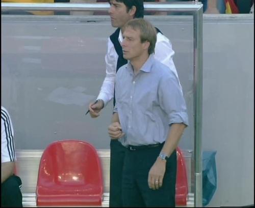 Jürgen Klinsmann & Joachim Löw – Germany v Tunisia 6