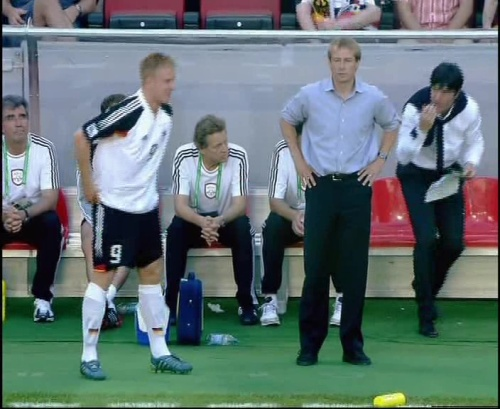 Jürgen Klinsmann & Joachim Löw – Germany v Tunisia 7