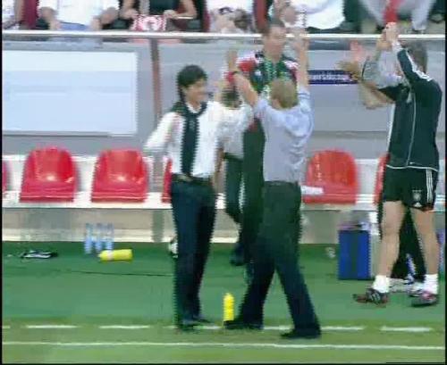 Jürgen Klinsmann & Joachim Löw – Germany v Tunisia 8