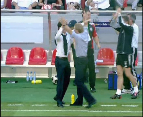 Jürgen Klinsmann & Joachim Löw – Germany v Tunisia 9