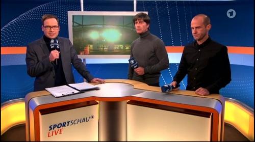 Joachim Löw ARD half-time interview – HSV v FC Bayern München 2015-16 1