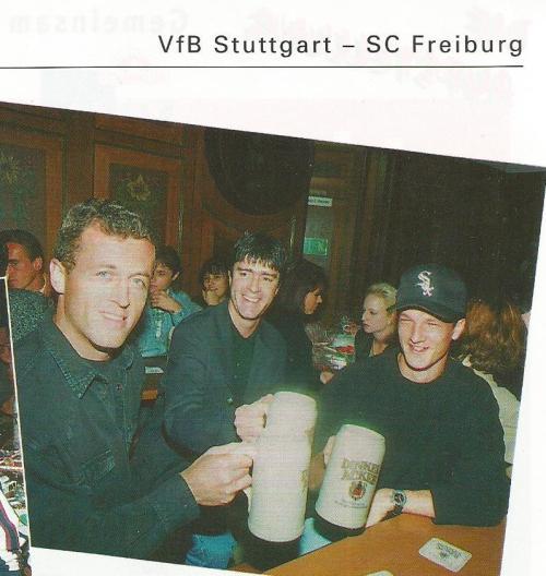 Joachim Löw – Cannstatter Volkfest picture – Stuttgart v SC Freiburg