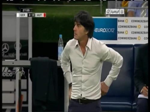 Joachim Löw – Germany v Austria 2011 12