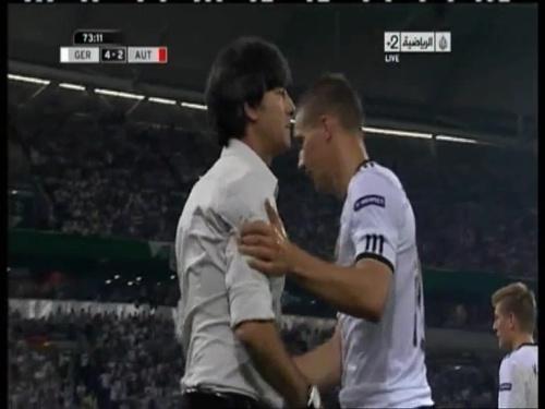 Joachim Löw – Germany v Austria 2011 19