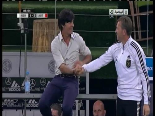 Joachim Löw – Germany v Austria 2011 23