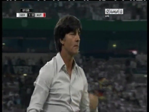 Joachim Löw – Germany v Austria 2011 3