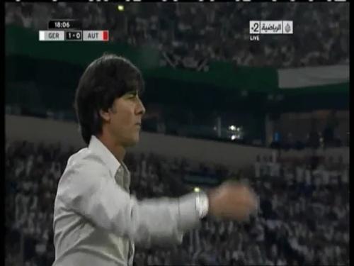 Joachim Löw – Germany v Austria 2011 7