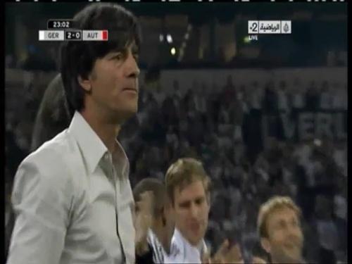 Joachim Löw – Germany v Austria 2011 8