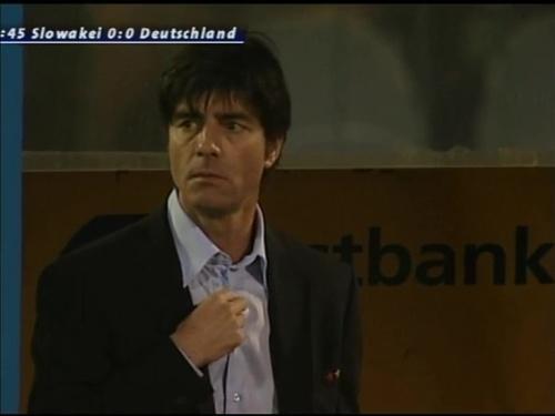 Joachim Löw – Slovakia v Germany 3