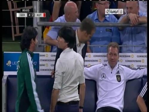 Joachim Löw & Hansi Flick – Germany v Austria 2011 23