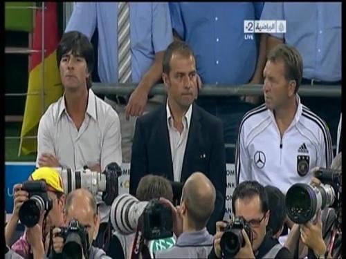Joachim Löw & Hansi Flick – Germany v Austria 2011 3