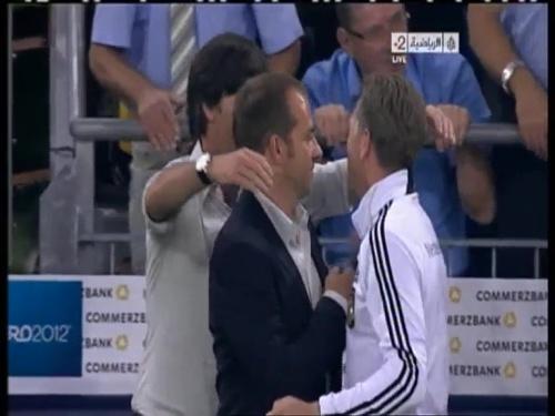 Joachim Löw & Hansi Flick – Germany v Austria 2011 33