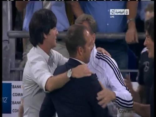 Joachim Löw & Hansi Flick – Germany v Austria 2011 34