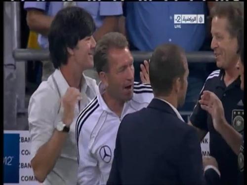 Joachim Löw & Hansi Flick – Germany v Austria 2011 35