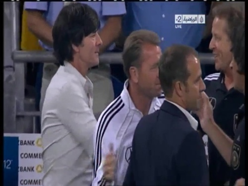 Joachim Löw & Hansi Flick – Germany v Austria 2011 36