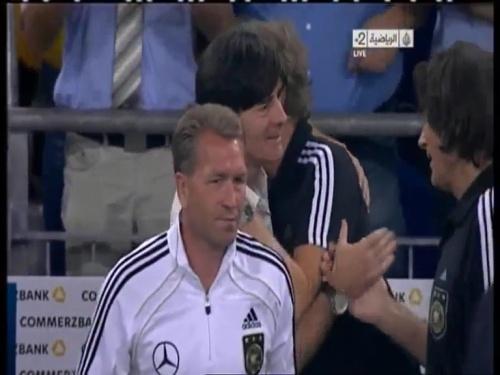 Joachim Löw & Hansi Flick – Germany v Austria 2011 37
