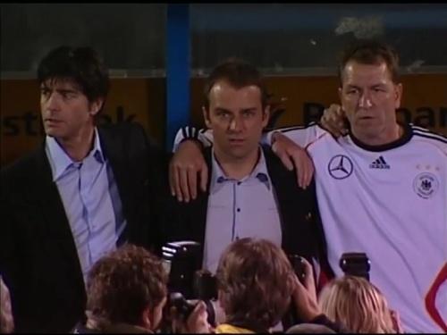 Joachim Löw & Hansi Flick – Slovakia v Germany 1
