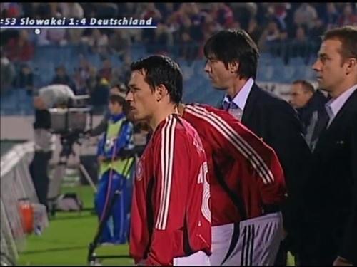 Joachim Löw & Hansi Flick – Slovakia v Germany 12