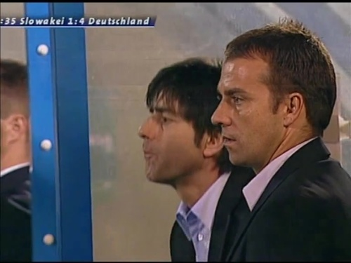 Joachim Löw & Hansi Flick – Slovakia v Germany 13