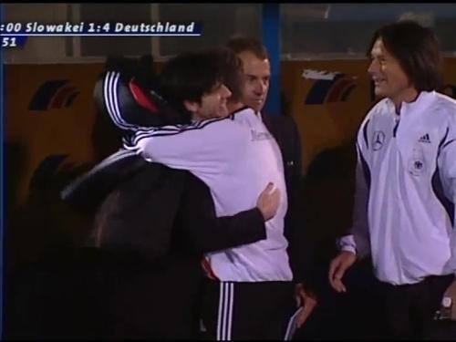 Joachim Löw & Hansi Flick – Slovakia v Germany 15