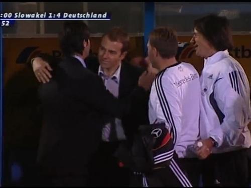 Joachim Löw & Hansi Flick – Slovakia v Germany 16