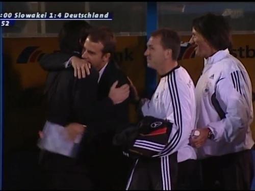 Joachim Löw & Hansi Flick – Slovakia v Germany 17