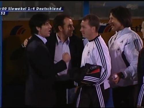 Joachim Löw & Hansi Flick – Slovakia v Germany 19