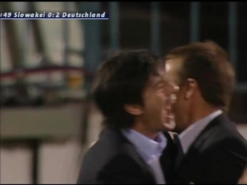 Joachim Löw & Hansi Flick – Slovakia v Germany 3