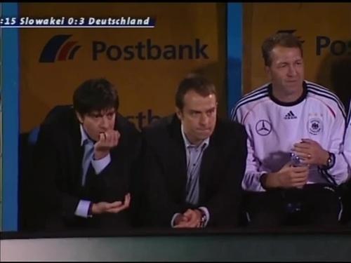 Joachim Löw & Hansi Flick – Slovakia v Germany 5