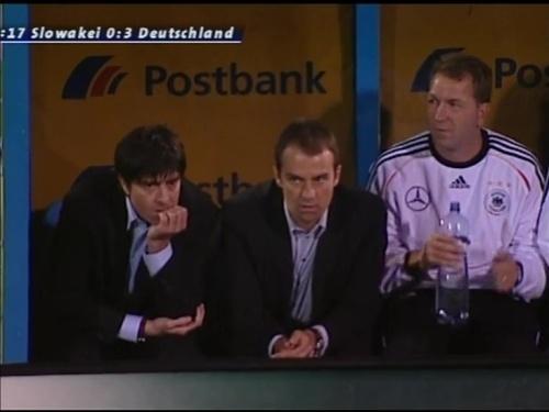 Joachim Löw & Hansi Flick – Slovakia v Germany 6