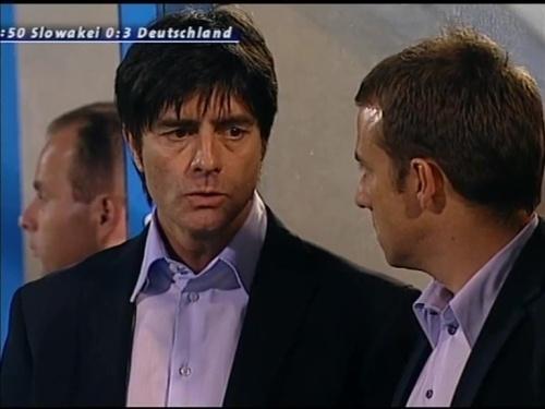 Joachim Löw & Hansi Flick – Slovakia v Germany 7