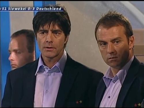 Joachim Löw & Hansi Flick – Slovakia v Germany 8