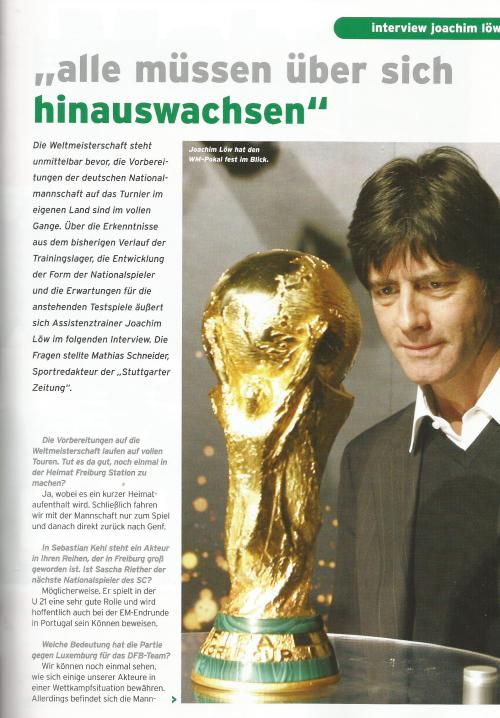 Joachim Löw interview – Germany v Luxembourg program 2006 1