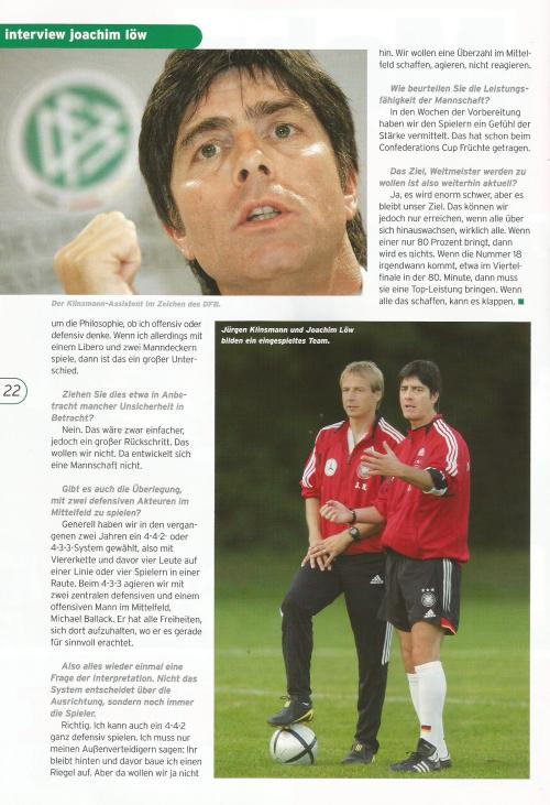 Joachim Löw interview – Germany v Luxembourg program 2006 3