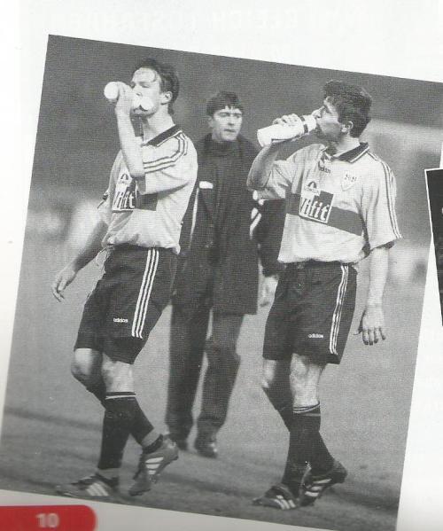 Joachim Löw picture 2 – Stuttgart v Dortmund 1996-97 program