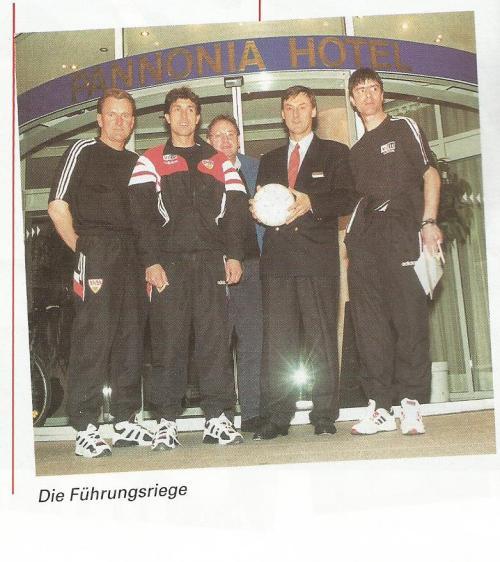 Joachim Löw picture 3 – Stuttgart v Dortmund 1996-97 program