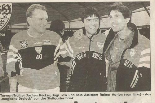 Joachim Löw - VfB Stuttgart - DFB Pokal clipping