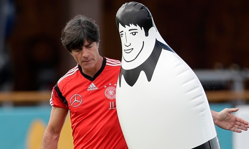 Joachim Low training