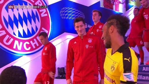 Lewandowski & Aubameyang - Bayern v Dortmund 1