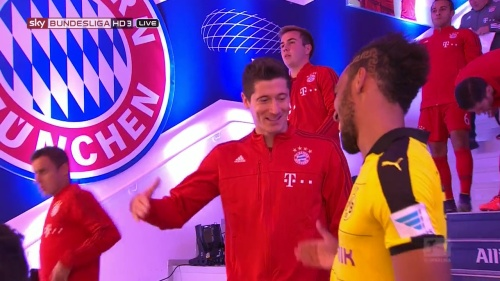 Lewandowski & Aubameyang - Bayern v Dortmund 2
